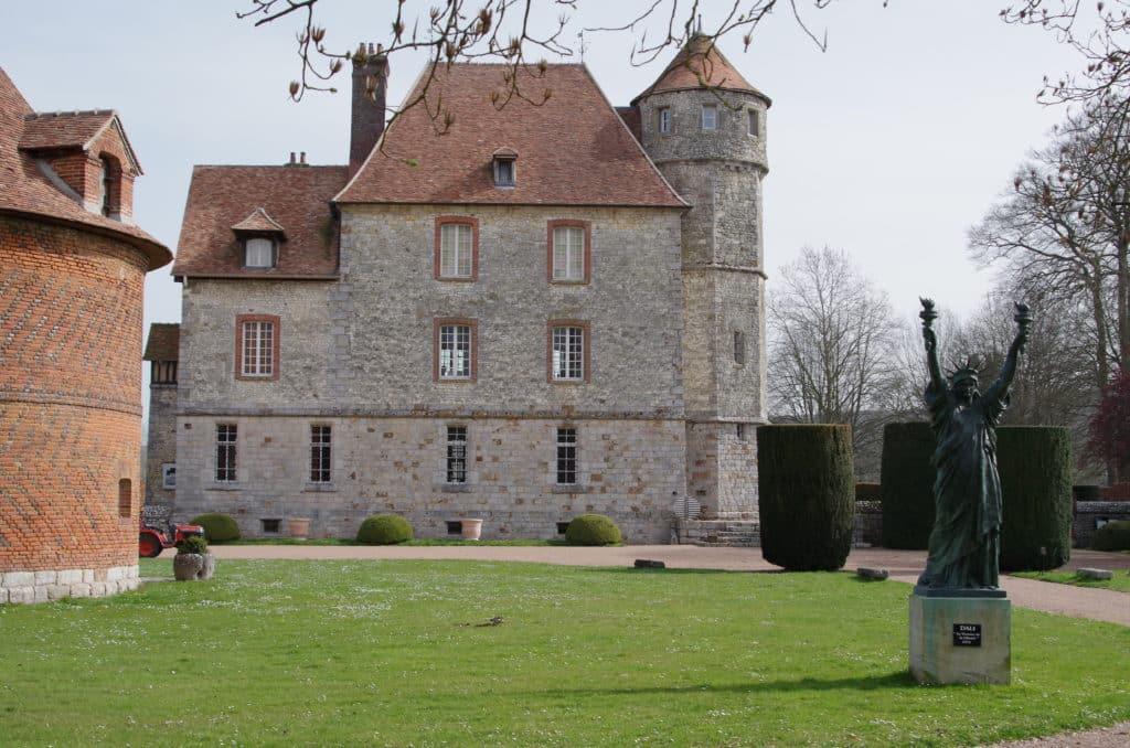 Le château de Vascoeuil