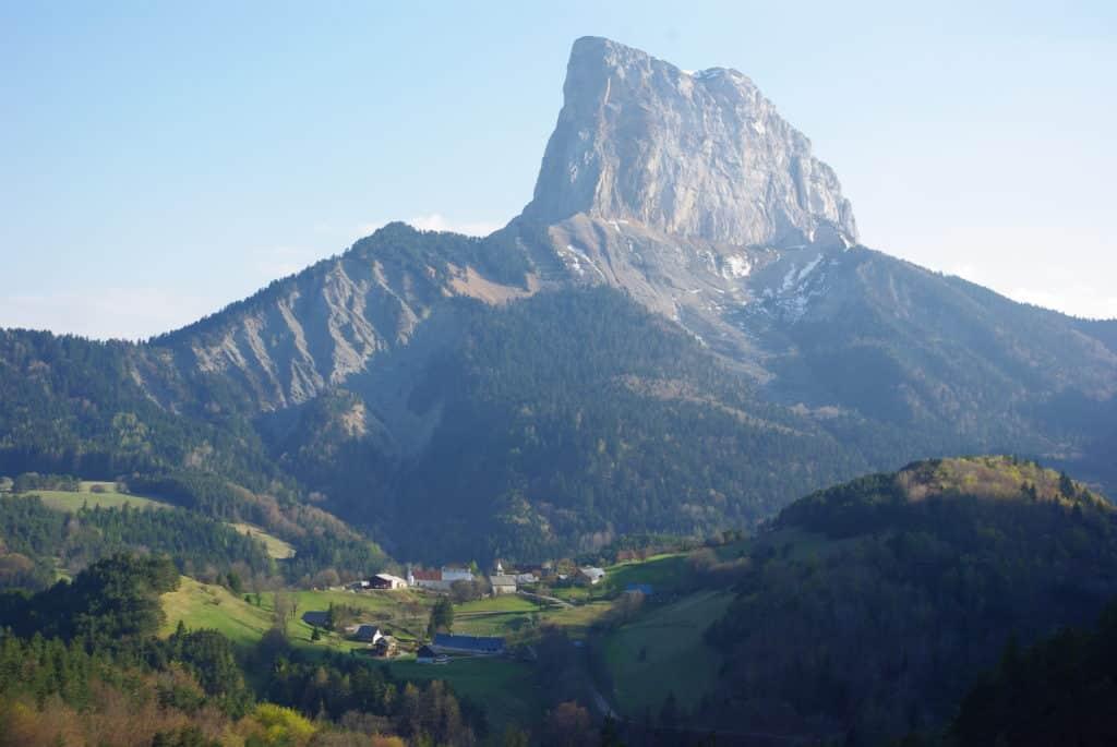 Le Mont Aiguille Vercors