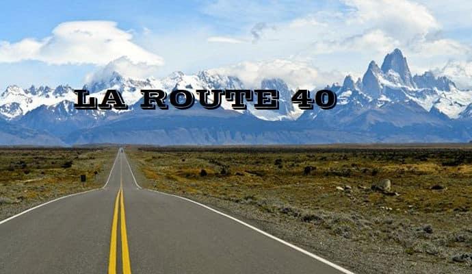 La route 40