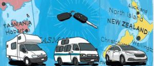 Louer un camping-car en Nouvelle Zélande