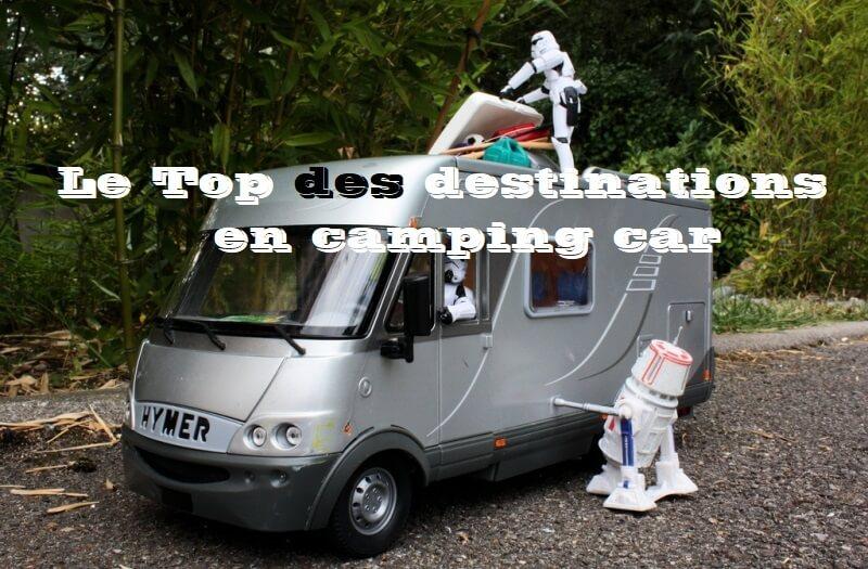 Top des destinations en camping-car