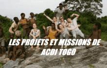 Les projets et missions de ACDI TOGO