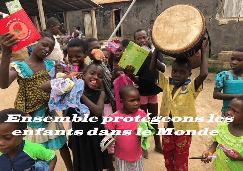 Ensemble protégeons les enfants dans le monde