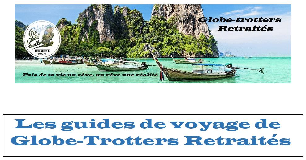 Les guides de voyages de globes trotters retraités