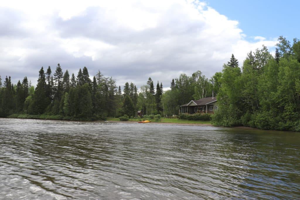 Road Trip au Quebec Le lac de Fallardeau