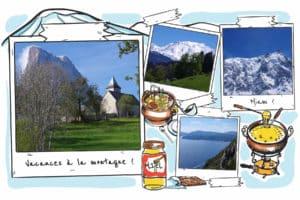 Comment garder le contact lors d'un voyage la carte postale