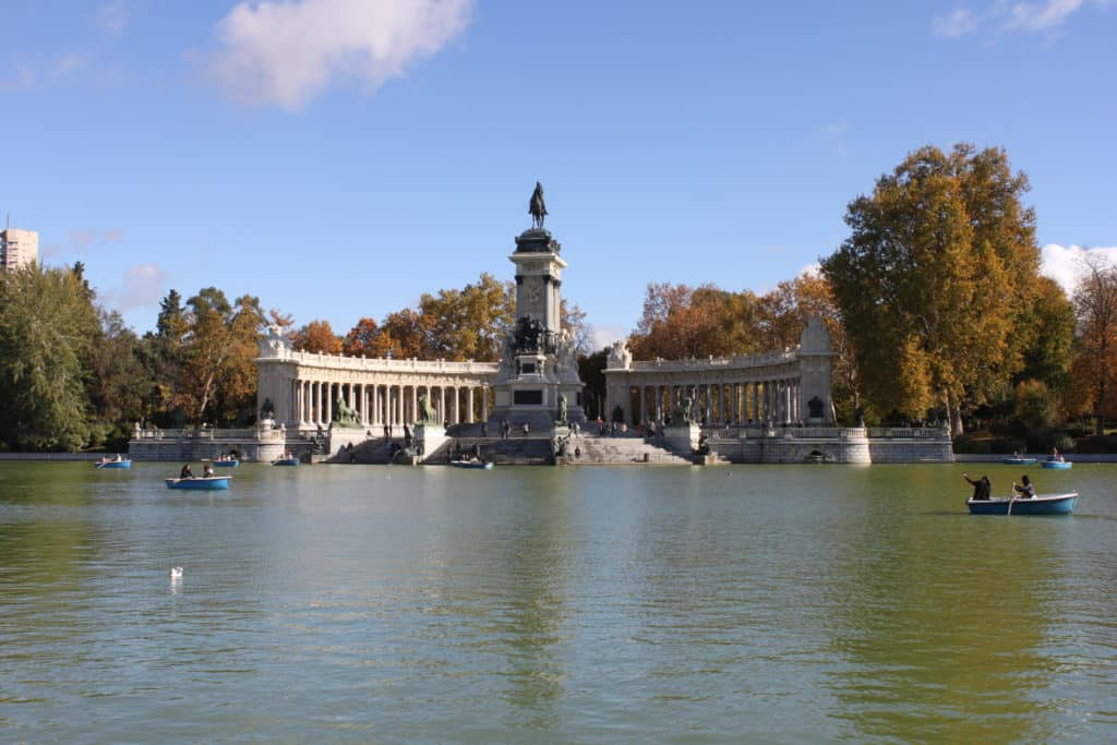 week-end de luxe à Madrid retiro