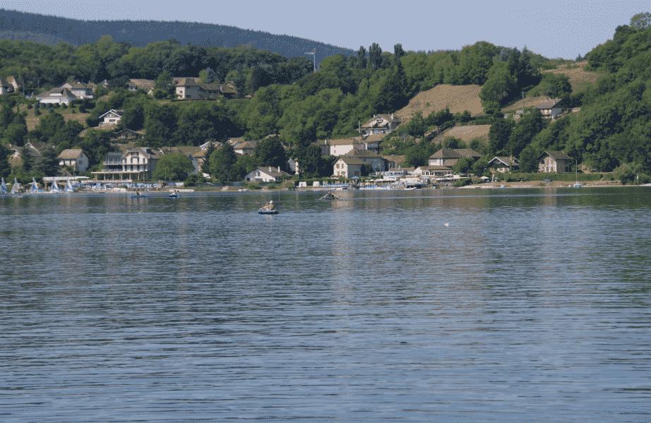 Lac de Paladru.Isère