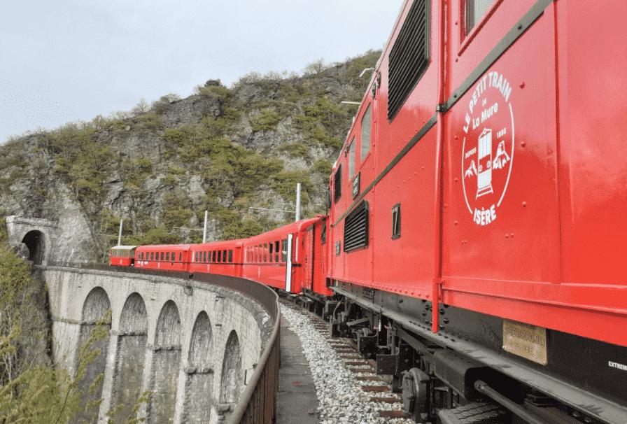 Le train de la Mure