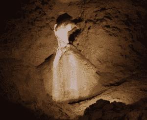 la robe de la mariée les grottes de la Balme