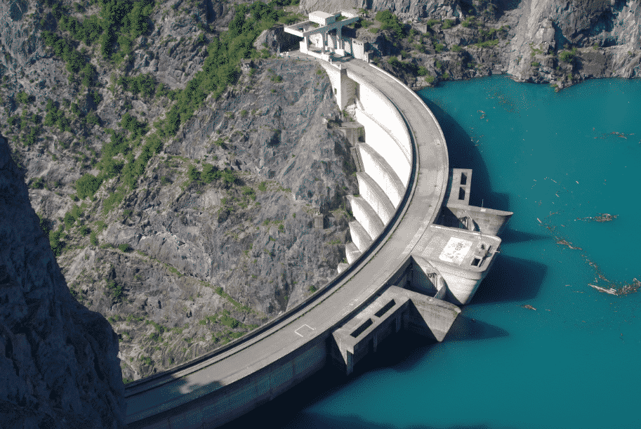 le barrage de Monteynard