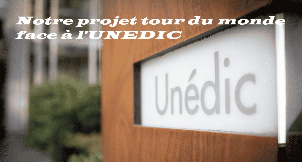Notre projet de tour du monde face à l'UNEDIC