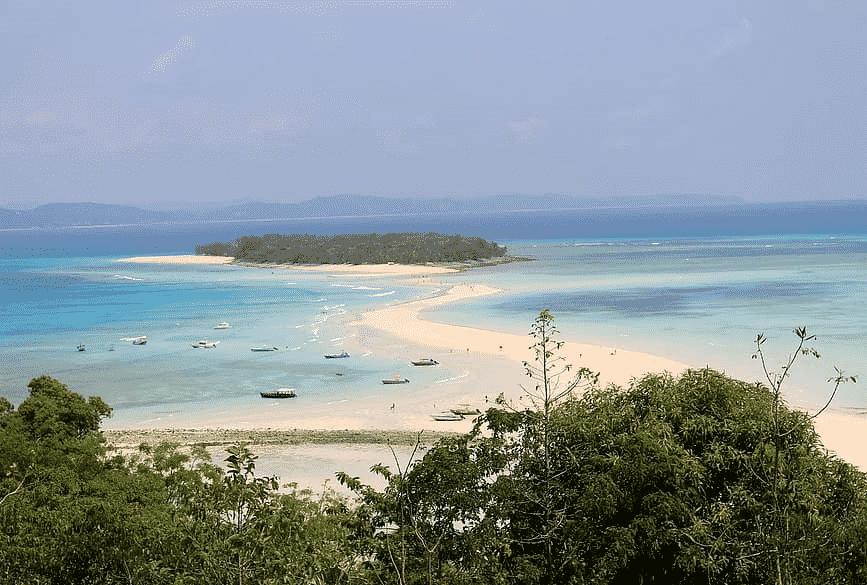les plus belles plages d'Afrique Nosy Iranja