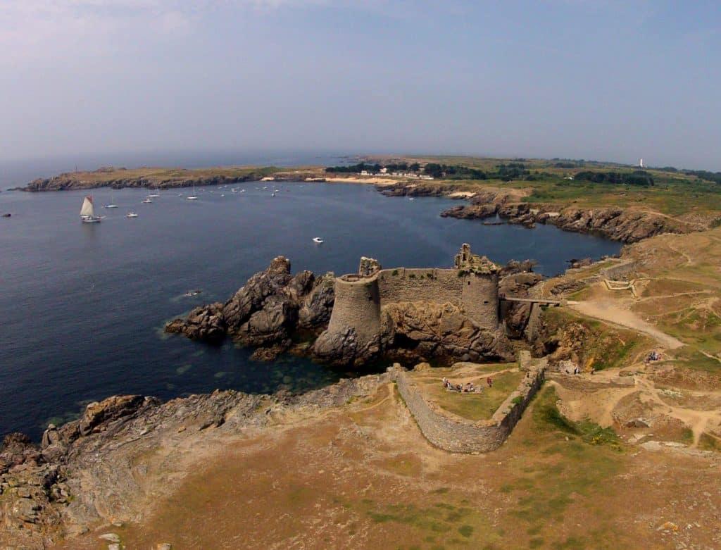 Visiter l'île d'Yeu le temps d'un week-end le vieux chateau