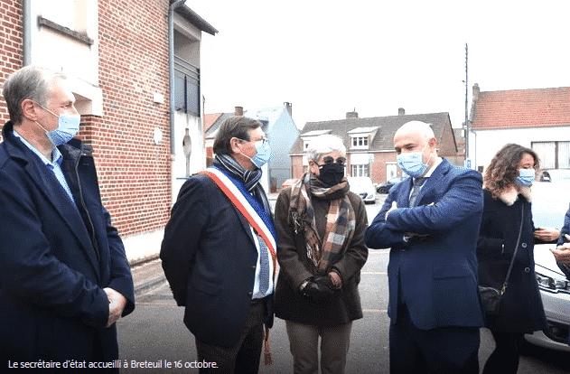 préparer sa retraite le secrétaire d'Etat à Breteuil