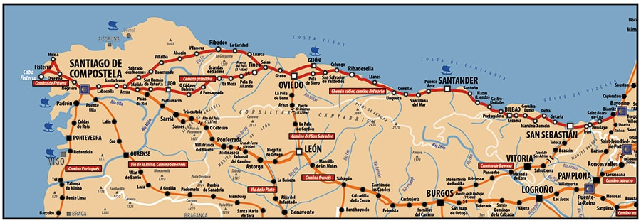 A la découverte du Pays Basque le chemin de Compostelle