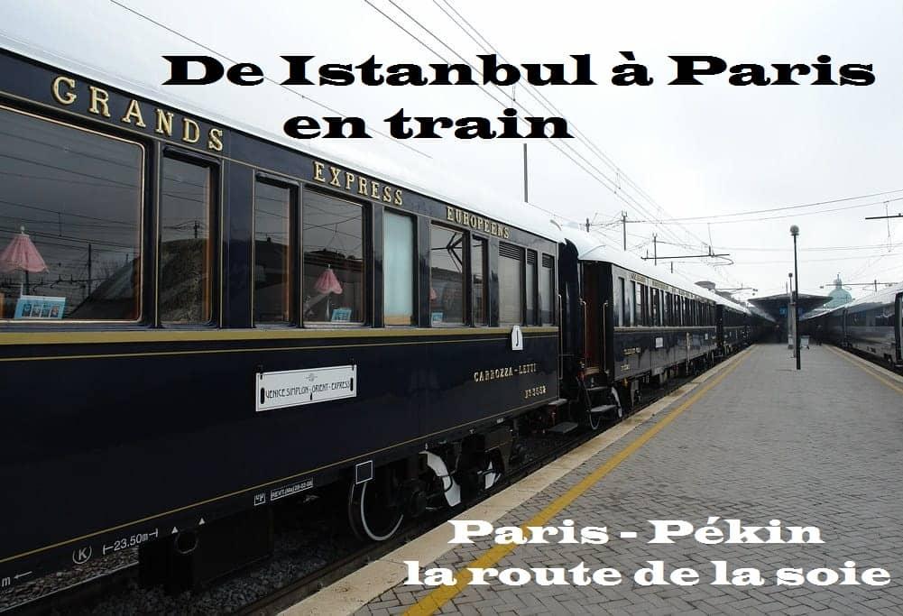 De Istanbul à Paris en train