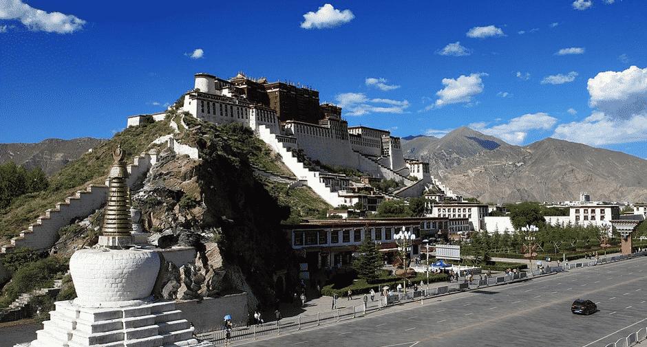 Les trajets en train autour du monde: l'asie Lhassa