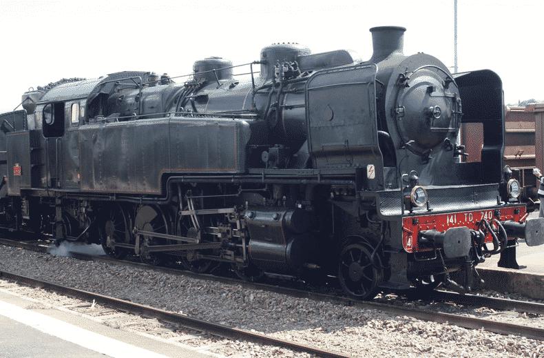 Les trains à vapeur en France La loco du train d'Auvergne