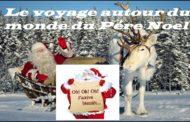 Le voyage autour du monde du Père Noël