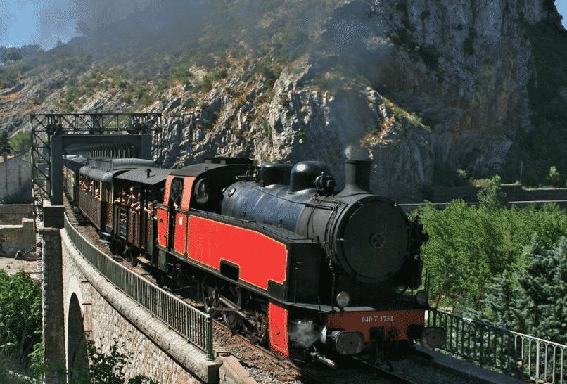 train à vapeur des Cevennes