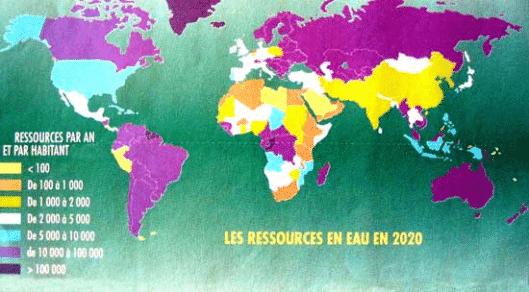 L'accès à l'eau potable autour du monde