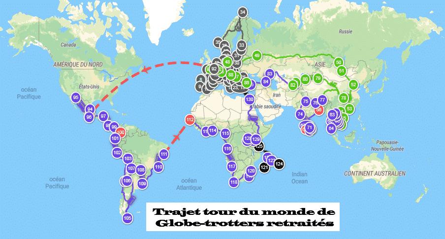 TDM GLOBE TROTTERS RETRAITES 2022 2025