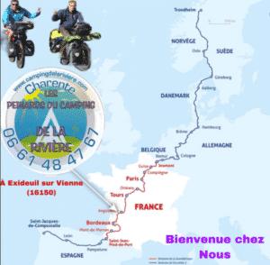 Camping sur L'Eurovélo EV3