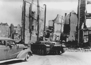 La ville de Breteuil en juin 1940