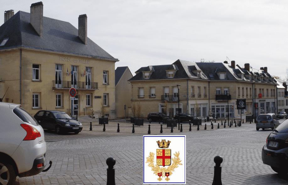La ville de Breteuil et la Picardie.centre ville la mairie