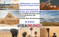 Billet de continuation avec VISAMUNDI