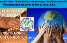 Partir au TOGO comme volontaire humanitaire avec ACDI