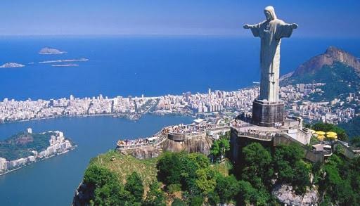 les préparatifs d'un voyage en famille au Brésil LES VILLES A VOIR