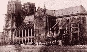 photographie de Notre Dame par Hippolyte Bayard