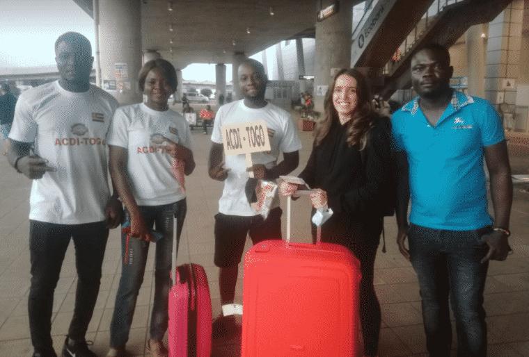 partir au TOGO comme volontaire humanitaire avec ACDI l'équipe