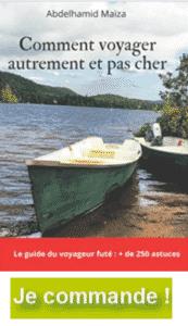 le livre de comment voyager autrement et pas cher