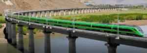 le train toit du monde au Tibet