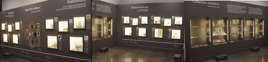 LesJournées européennes de l'archéologie 2021 exposition permanent de Vendeuil Caply