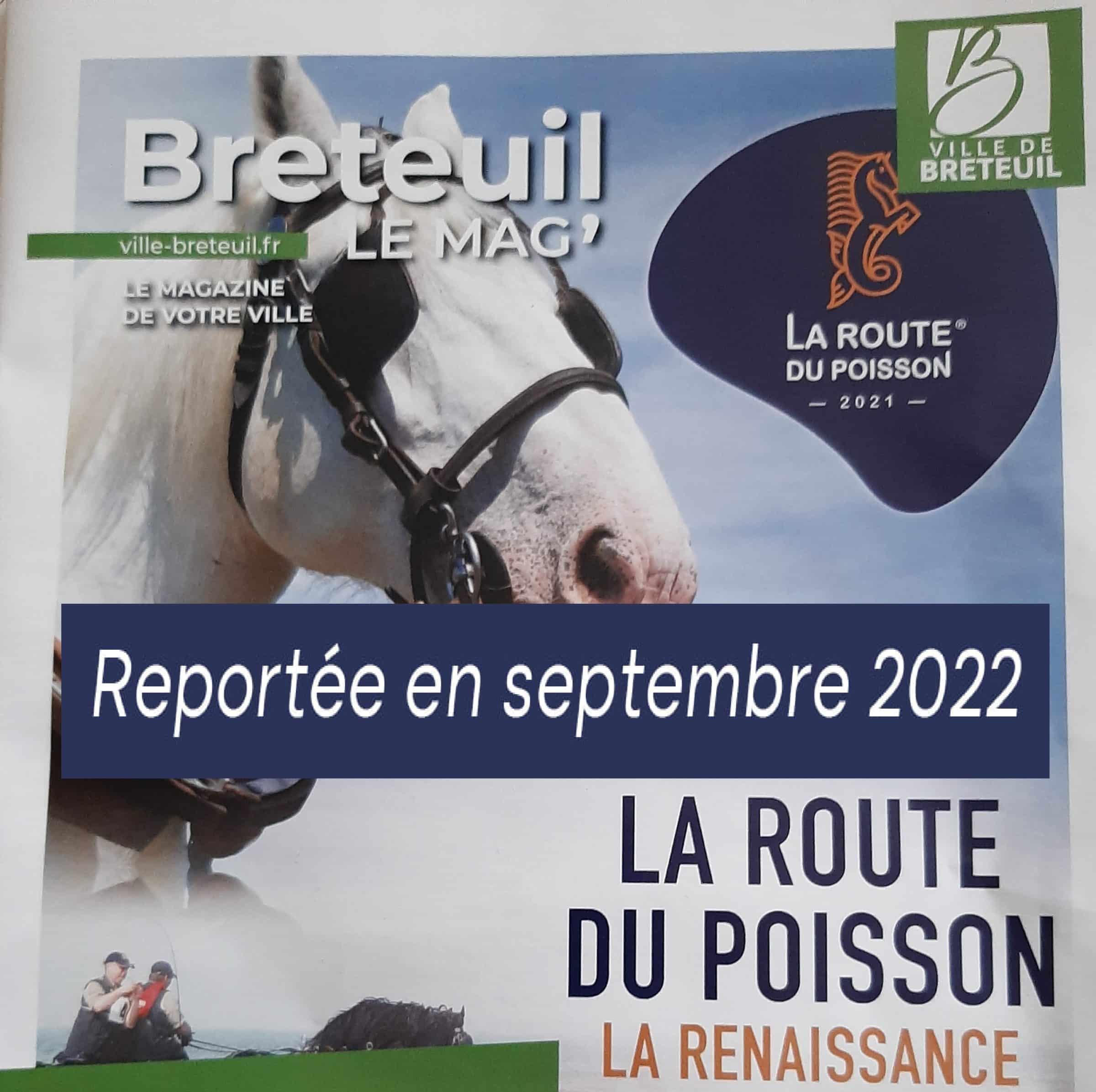 La route du Poisson 2021