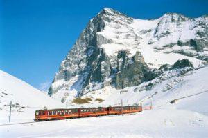Jungfraubahn la gare la plus haute d'Europe