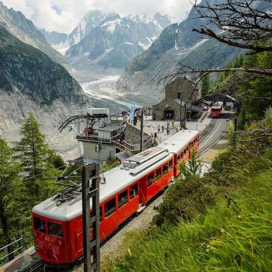 Le train du Mont Blanc