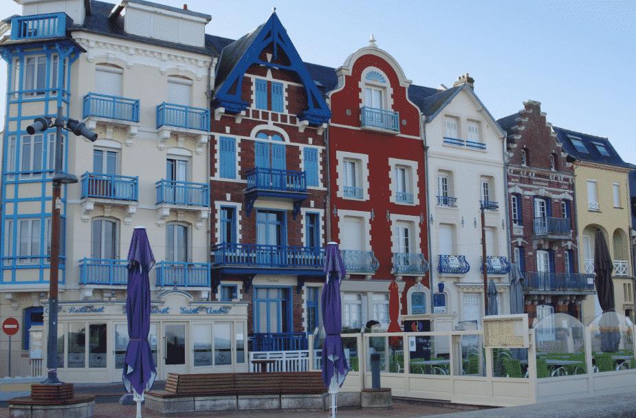 Les villas de Mers-les-bains