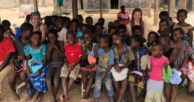 comment se passe la rentrée scolaire 2021 en Afrique la Cagnotte.des volontaires 2021
