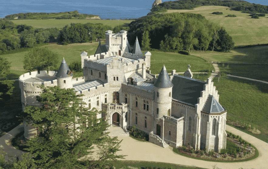 le Château d'Abbadia à Hendaye.