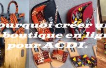 Pourquoi créer un site boutique en ligne pour ACDI.